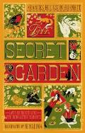 Secret Garden The Illustrated with Interactive Elements