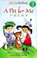 Pet For Me Poems I Can Read Book