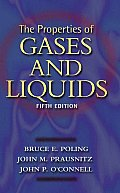 Properties Of Gases & Liquids 5th Edition