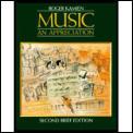 Music An Appreciation 2nd Edition Brief