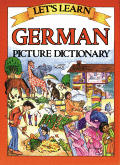 Lets Learn German Picture Dictionary