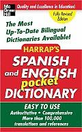 Harraps Spanish & English Pocket Dictionary