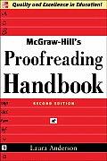 Mcgraw Hills Proofreading Handbook