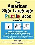 American Sign Language Puzzle Book Volume 2