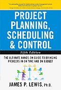Project Planning Scheduling & Control 5th Edition