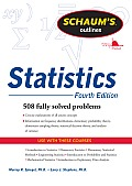 Schaums Outline of Statistics 4th Edition Revised