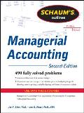 Schaums Outline of Managerial Accounting 2nd Edition
