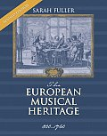 European Musical Heritage 800 1750 Revised Edition