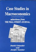Case Studies in Macroeconomics (96 Edition)