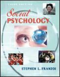 Social Psychology 3rd Edition