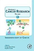 Immunotherapy of Cancer, Volume 128