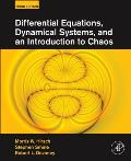 Differential Equations Dynamical Systems & An Introduction To Chaos