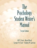 Psychology Student Writers Manual