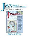 Java Student Solutions Manual to Accompany Java How to Program