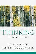Thinking An Interdisciplinary Approach to Critical & Creative Thought 4th edition