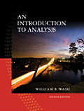 Introduction to Analysis 4th Edition