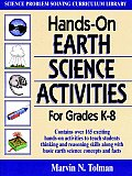 Hands On Earth Science Activities For Grades K 8