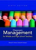 Classroom Management for Middle & High School Teachers 9th Edition
