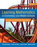 Learning Mathematics In Elementary & Middle School A Learner Centered Approach Video Enhanced Pearson Etext Access Card