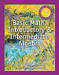Mymathlab for Lial Basic Math, Introductory and Intermediate Algebra -- Access Card -- Plus Myslidenotes
