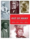 Out Of Many Volume 1 Plus New Myhistorylab For Us History Access Card Package