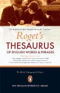Rogets Thesaurus of English words & phrases 150th Anniversary Edition