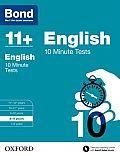 Bond 11+: English: 10 Minute Tests