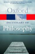 Oxford Dictionary of Philosophy