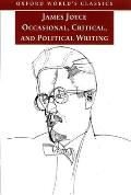 Occasional Critical & Political Writing