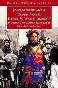 Henry V War Criminal & Other Shakespeare