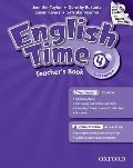 English Time 4. 2nd Edition. Teachers Book With Test Centre & Online Practice Pack