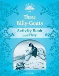 Classic Tales: Level 1: The Three Billy Goats Gruff Activity Book & Play