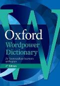 Oxford WordPower Dictionary, 4th Edition Pack [With CDROM]