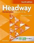 New Headway: Pre-intermediate: Workbook + Ichecker With Key