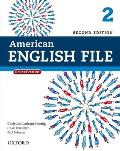 American English File 2e 2 Studentbook With Online Practice