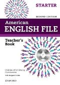 American English File 2e Starter Teachers Book: With Testing Program