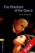 Oxford Bookworms Library: Stage 1: the Phantom of the Opera Audio CD Pack