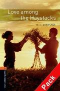 Oxford Bookworms Library: Stage 2: Love Among the Haystacks Audio CD Pack
