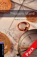 Oxford Bookworms Library: Stage 4: Treasure Island Audio CD Pack