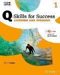 Q Skills For Success 2e Listening & Speaking Level 1 Student Book