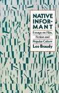 Native Informant Essays On Film Fiction