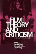 Film Theory & Criticism Introductory Readings 4th Edition
