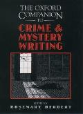 Oxford Companion To Crime & Mystery Writ