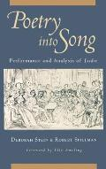 Poetry Into Song: Performance & Analysis of Lieder