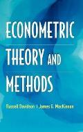 Econometric Theory & Methods