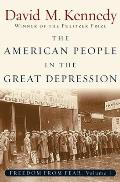 Freedom from Fear The American People in Depression & War 1929 1945