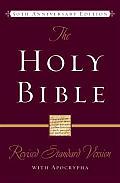 Bible Rsv Burgundy Apocrypha