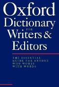 Oxford Dictionary For Writers & Editors 2nd Edition