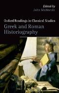 Greek and Roman Historiography