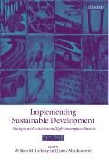 Implementing Sustainable Development: Strategies and Initiatives in High Consumption Societies